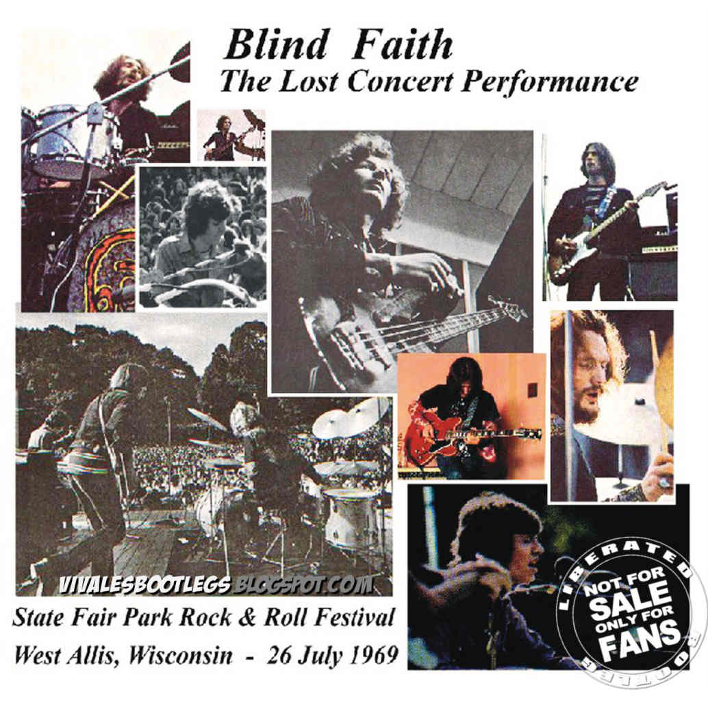 Blind Faith: The Lost Concert Perfomance  State Fair Park Rock and