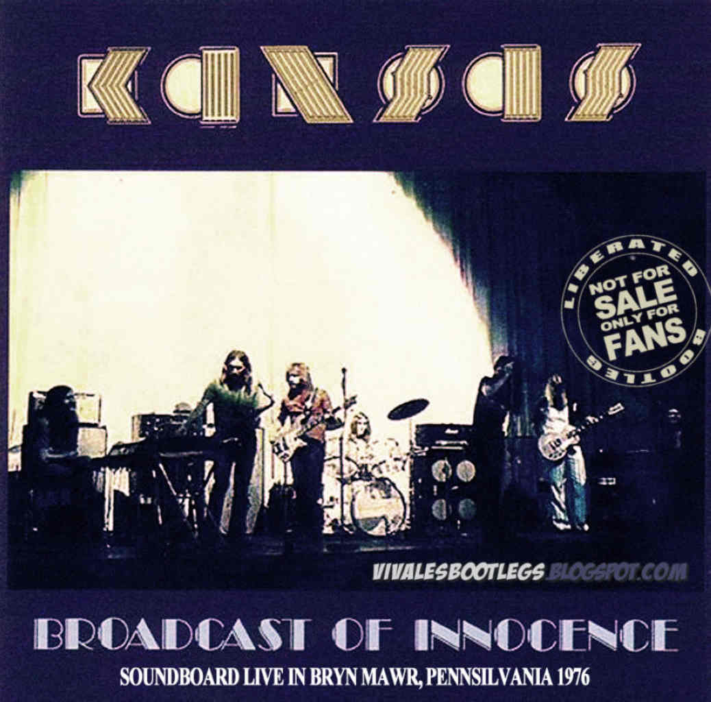 Kansas: Broadcast Of Innocence  Villanova Field House, Bryn