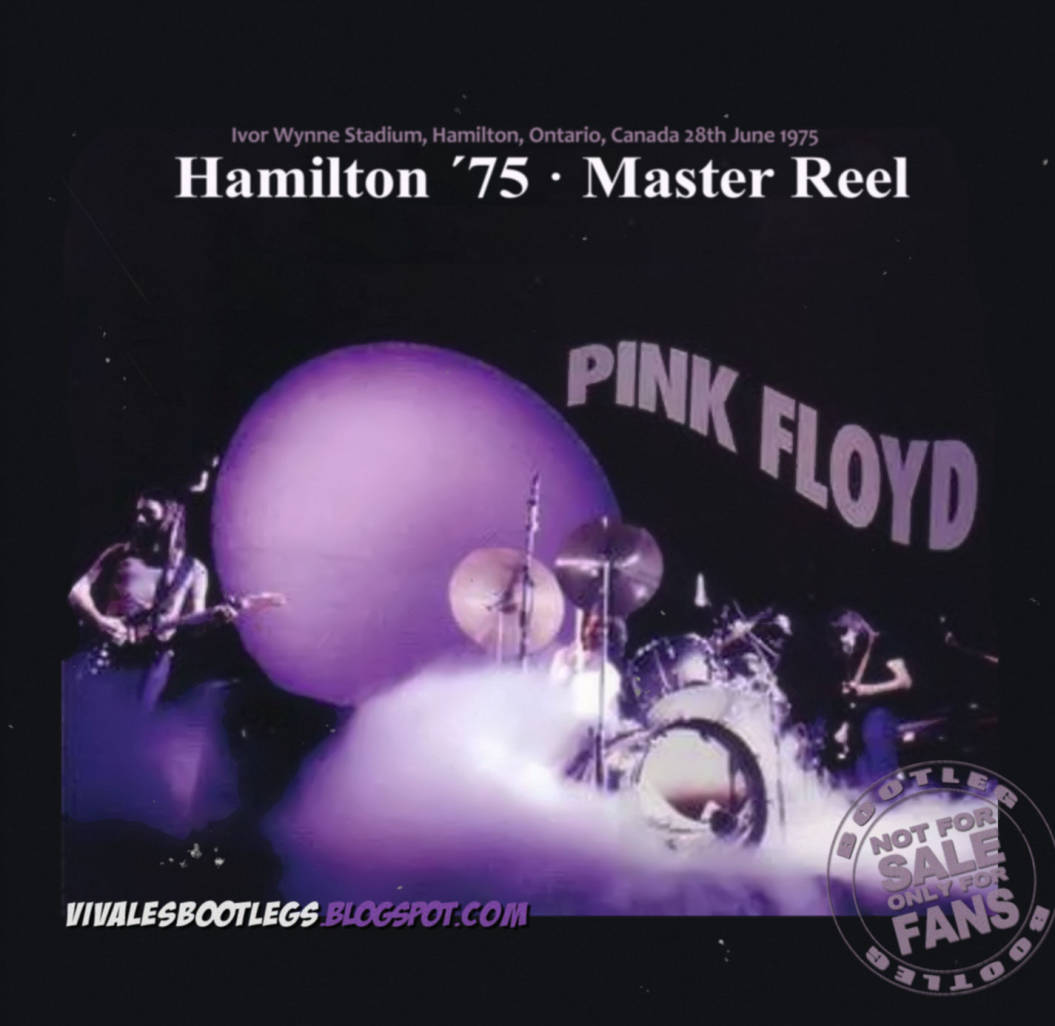 Pink Floyd: Hamilton '75 Master Reel  Ivor Wynne Stadium, Hamilton