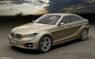 2012 BMW 3 Series Renderings