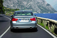 2009 BMW 3-Series Official Pictures Sedan Rear View