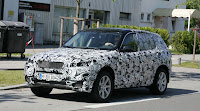 Spy Shots: 2009 BMW X1 Front View