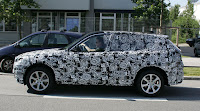 Spy Shots: 2009 BMW X1 Side View