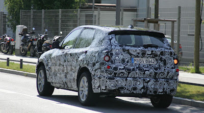 Spy Shots: 2009 BMW X1 Rear View