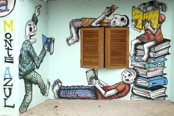 Arte Na Periferia: GRAFFITI GENTE MUDA