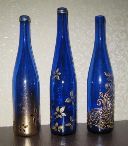 Поделки из стеклянных бутылок своими руками для сада и огорода - Поделки