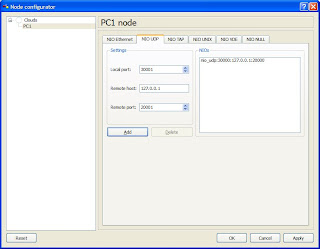 how to configure host in gns3