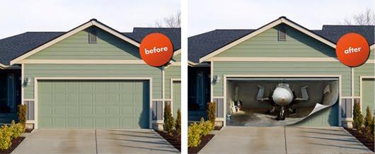 cool garage door ideas - COOL GARAGE IDEAS LIGHTING