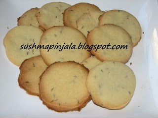 Salt and Jeera Biscuits