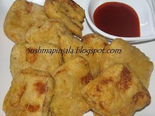 Bread Pakoda/  Bread Bajji