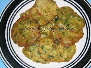 Sorakaya appalu/ bottle gourd patties