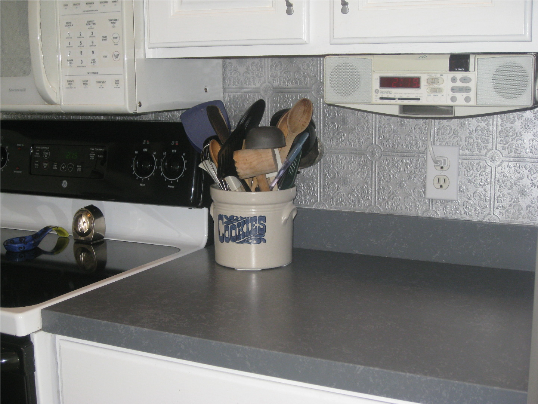 Kammy's Korner Painted Kitchen Countertops Again