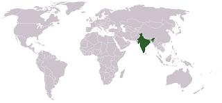 mediano y cuentas de gran tamaño 250g cuentas de Bollywood indio Cachemira-pequeño