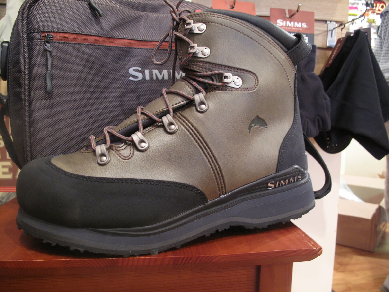 Chagrin River Outfitters New Simms Freestone Wading Boot