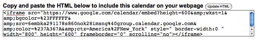 Tutorial: Embedding Google Calendar – Ladybug's Teacher Files