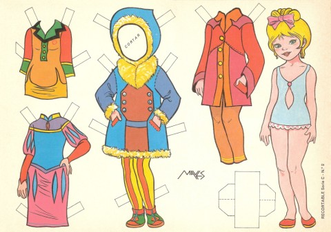 Monas para vestir