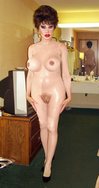 Sissy rubber doll