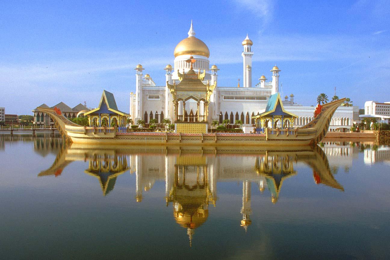 Brunei Map / Geography of Brunei / Map of Brunei ...  |Brunei