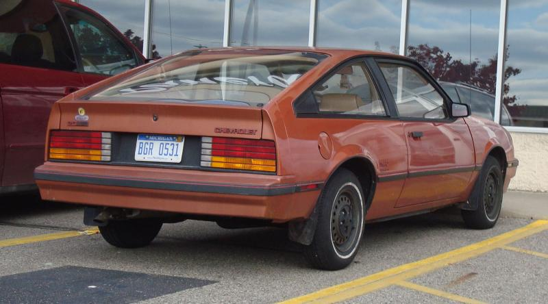 Chevrolet Cavalier Type Hatchback Carbon Fiber on 1982 Cavalier 4 Door