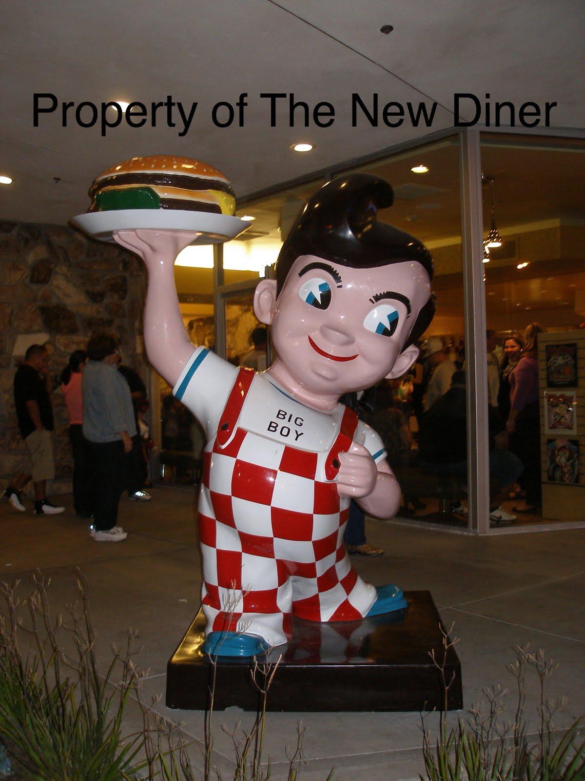 The New Diner Bob S Big Boy Broiler Downey