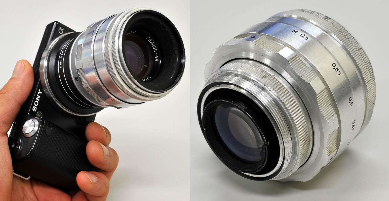 HELIOS 44-2 58mm/F2