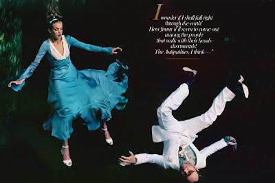 Alice in Wonderland Annie Leibovitz Vougue-2
