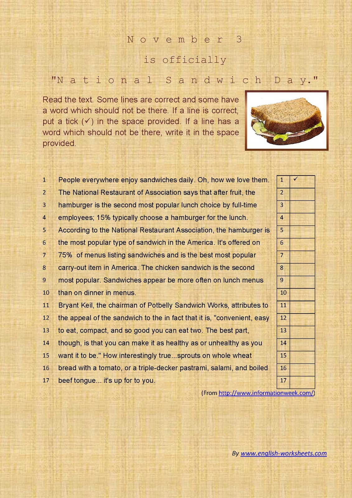 Printable Sandwich Book Report Form Blog Abi Picture To