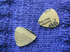 Guitar Picks from Credit Cards