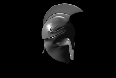 The shaded view for my first spartan helmet