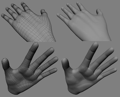 3d Model of my hand, finished under 3 hours