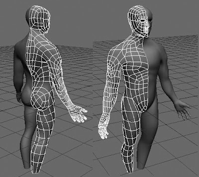 6 to 7 hours into the 3d body drill and it's coming along