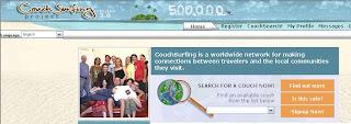 Hot Website 003: Couchsurfing