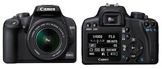 Canon 1000D DSLR announced