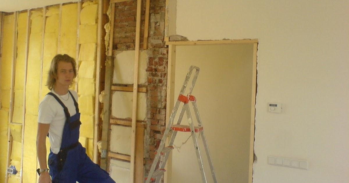 Verbouwingkje muur nummero uno - Muur van de ingang ...