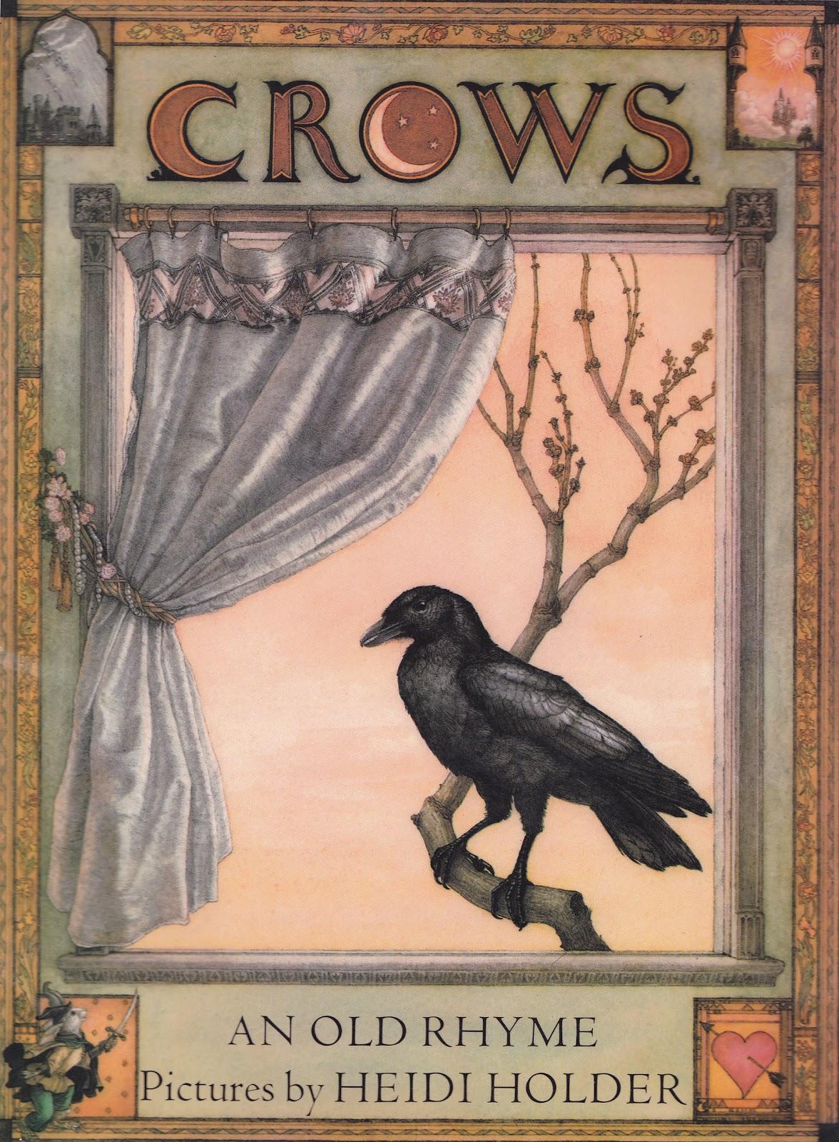 the marlowe bookshelf: Crows