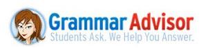 Grammar Advisor banner