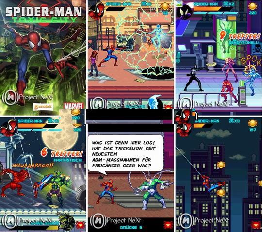 Spider man 3 java