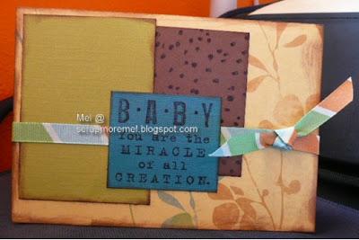 Baby Boy Card, FS68