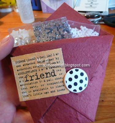 pocket card by mel