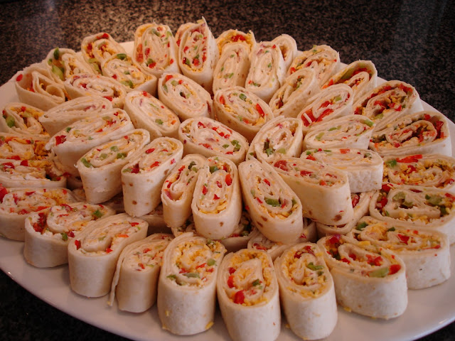 The perfect party appetizer - tortilla pinwheels