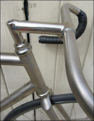 Pedal! Damn it!: Blackbird — custom Merlin track bike