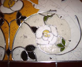 rozen van glas