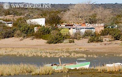 Riacho San José Península Valdes Patagonia Argentina