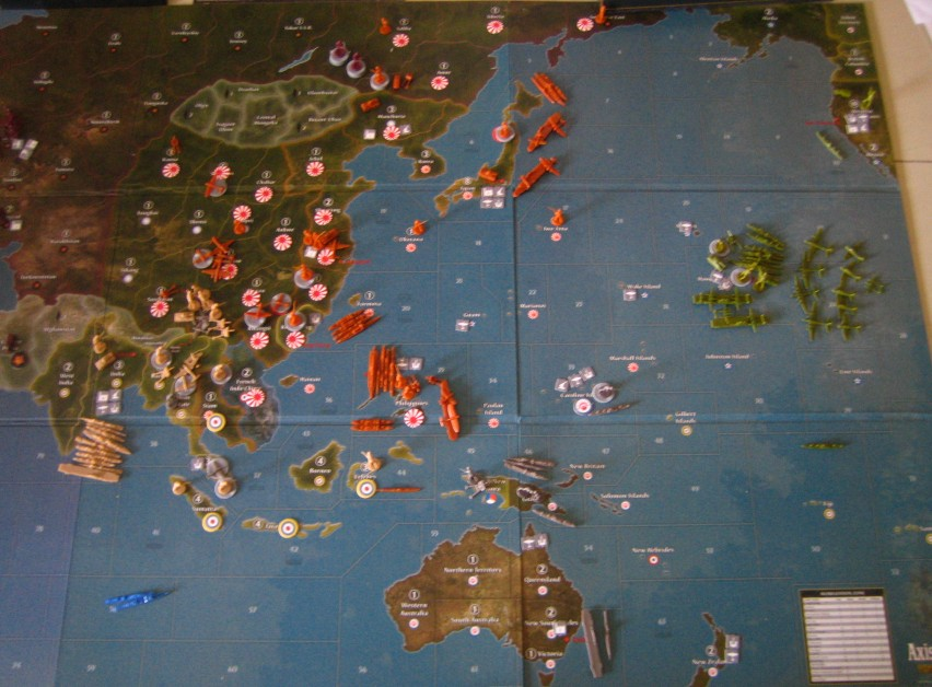 Axis & Allies Naval Miniatures War at Sea