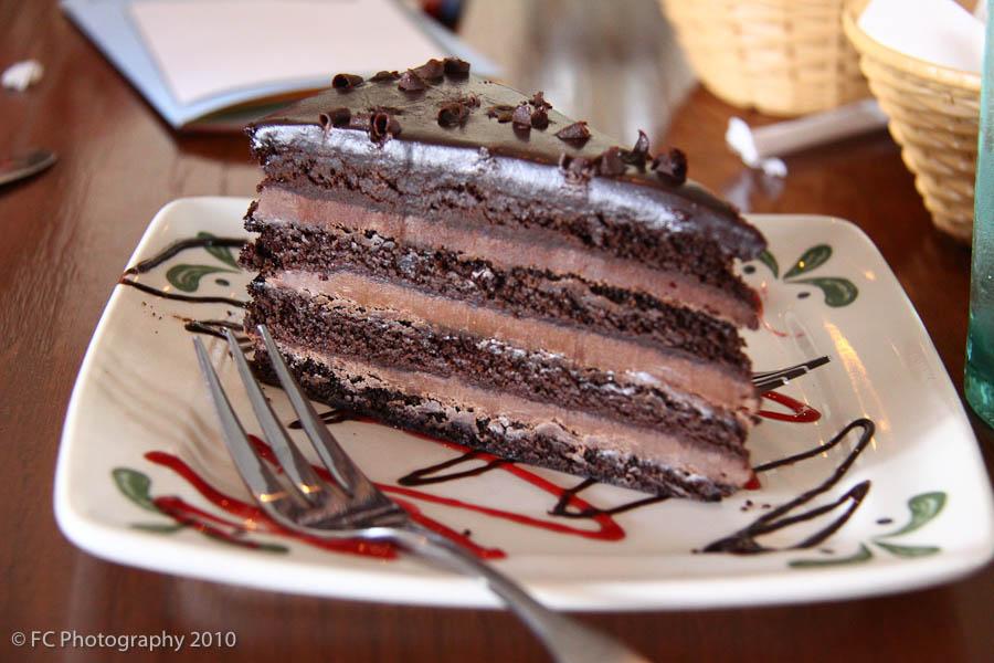 Olive Garden Triple Chocolate Strata Cake Recipe