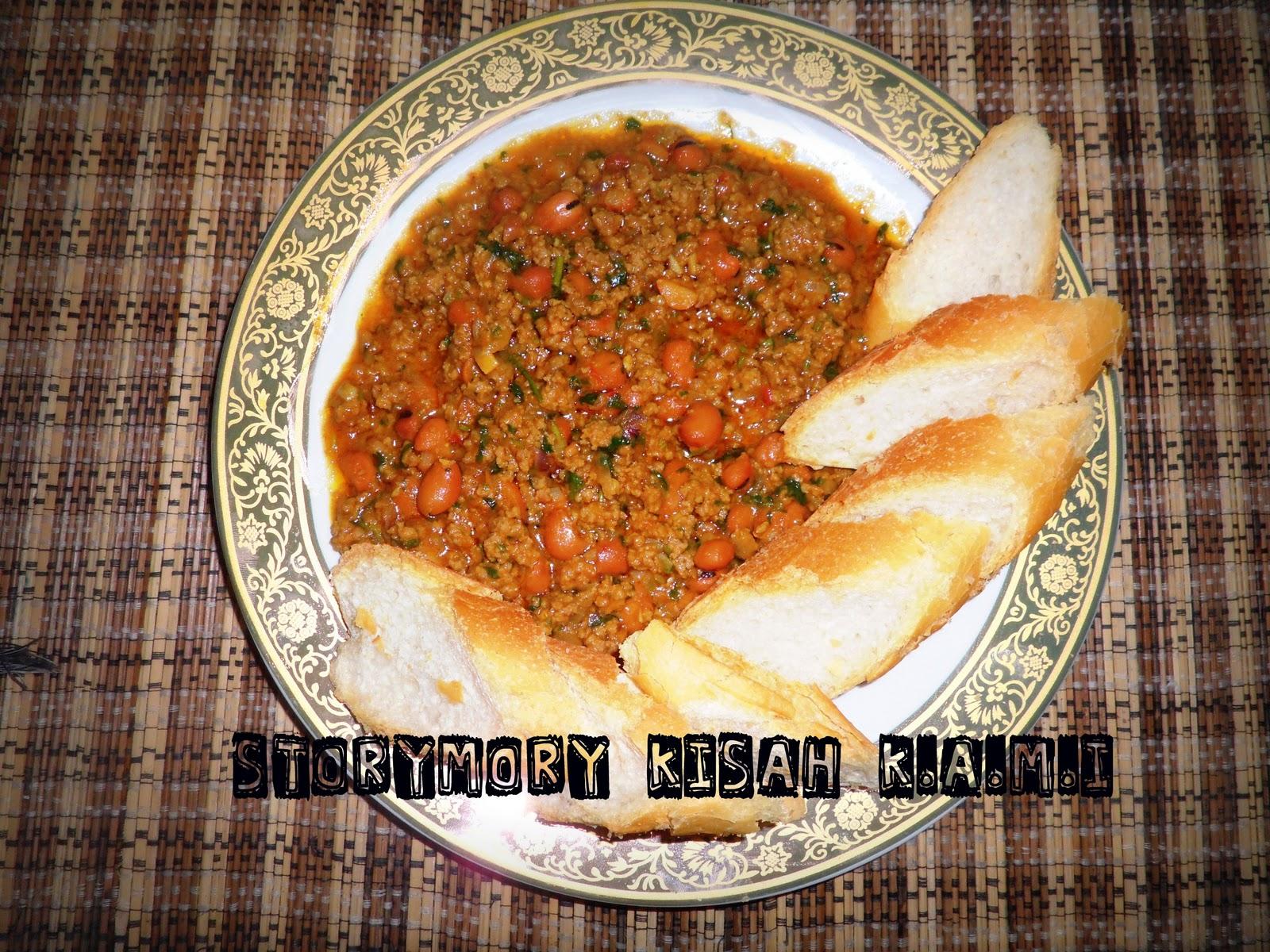 STORYMORY KISAH K.A.M.I: AKU masak AKU makan