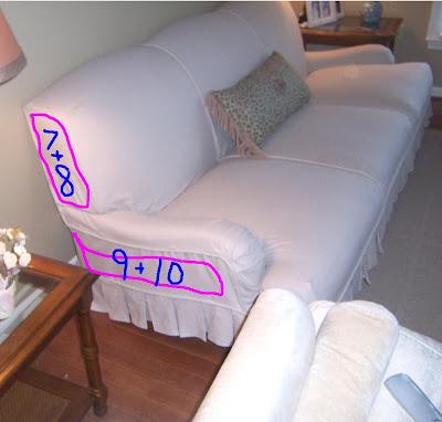 Bibbidi Bobbidi Beautiful How To Slipcover Sofas And Chairs