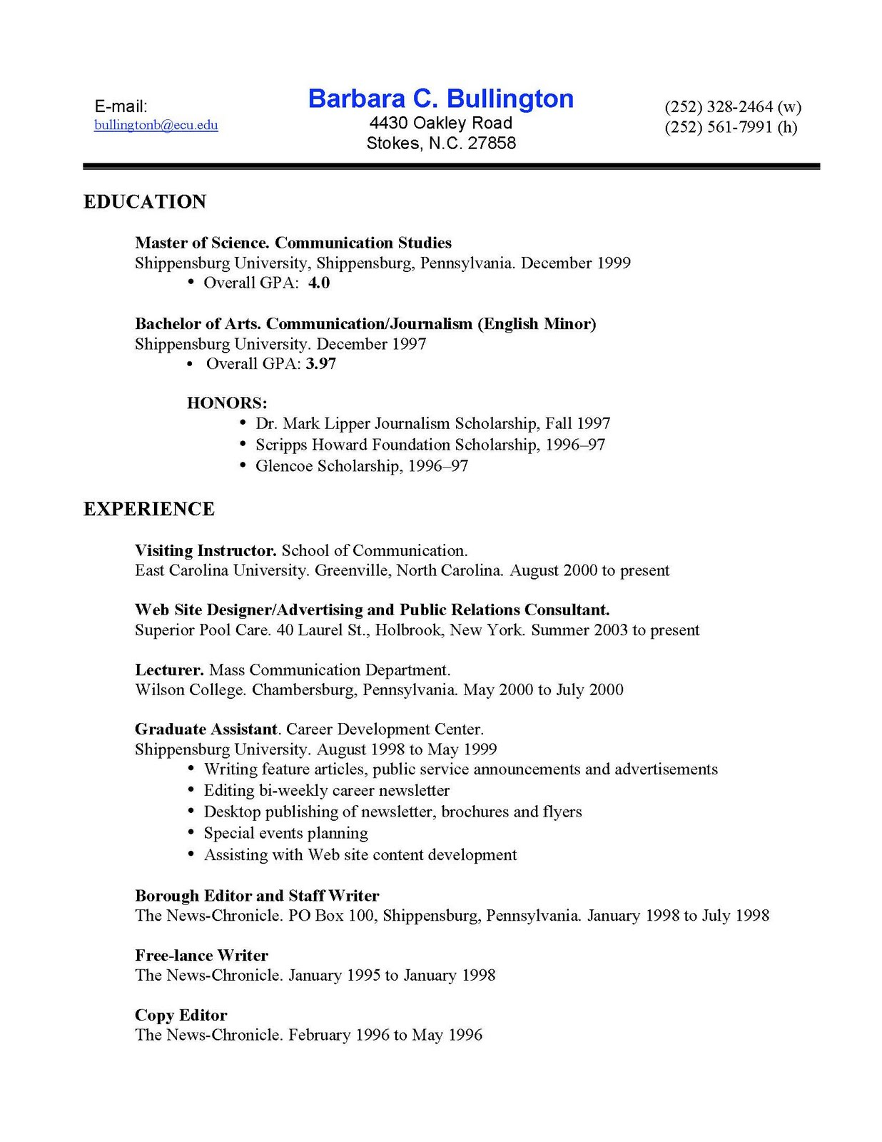 bullington designs  here u0026 39 s a copy of my most updated resume