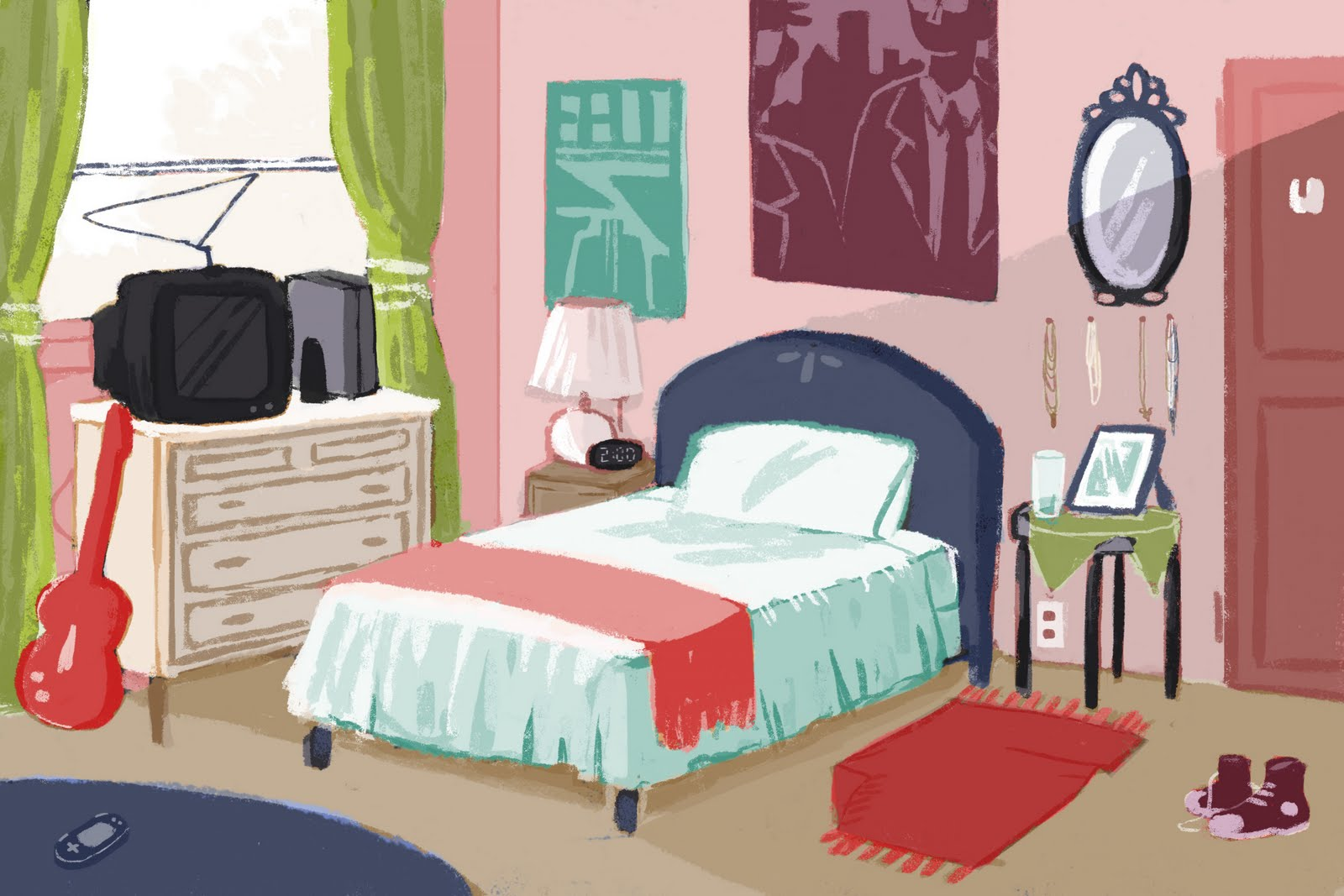 Bedroom Cartoon Picture images