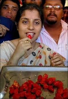 Anandita Dutta Tamuly Eats Bhut Jolokia